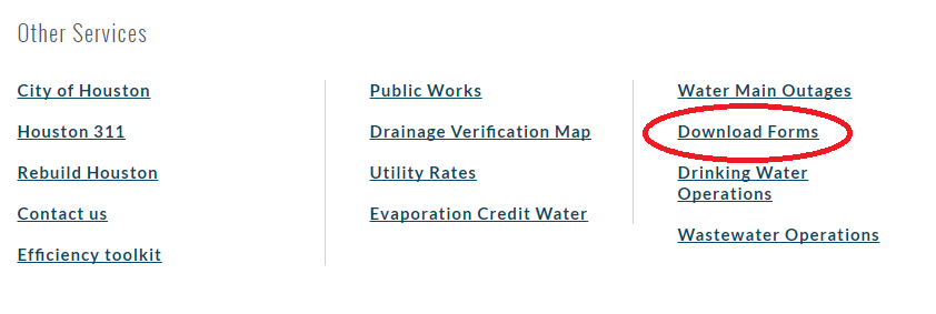 www.HoustonWaterBills.gov Automatic Payment