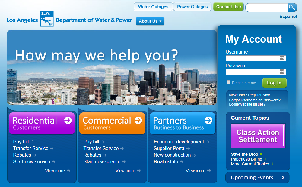 LADWP Pay My Bill - Compare All Payment Options - Pay My