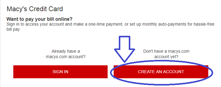 Macy's payment options online