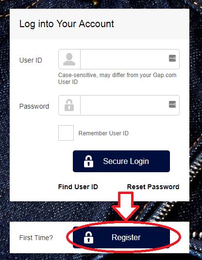 www.SynchronyCredit.com GAP Account Registration