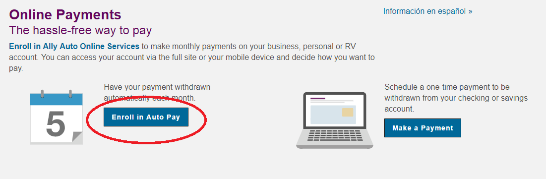 Ally Auto Payments Online >> Ally Auto Pay My Bill - Online, Over the Phone, By Mail