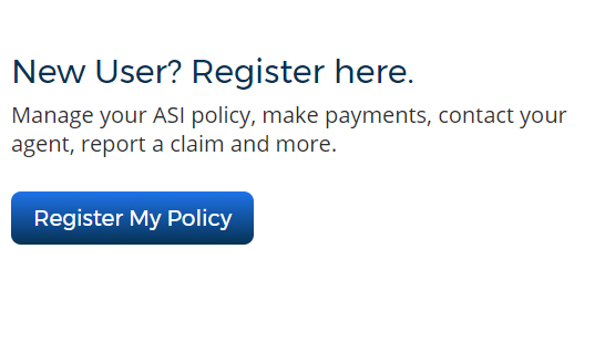 Auth.AmericanStrategic.com Register My Policy