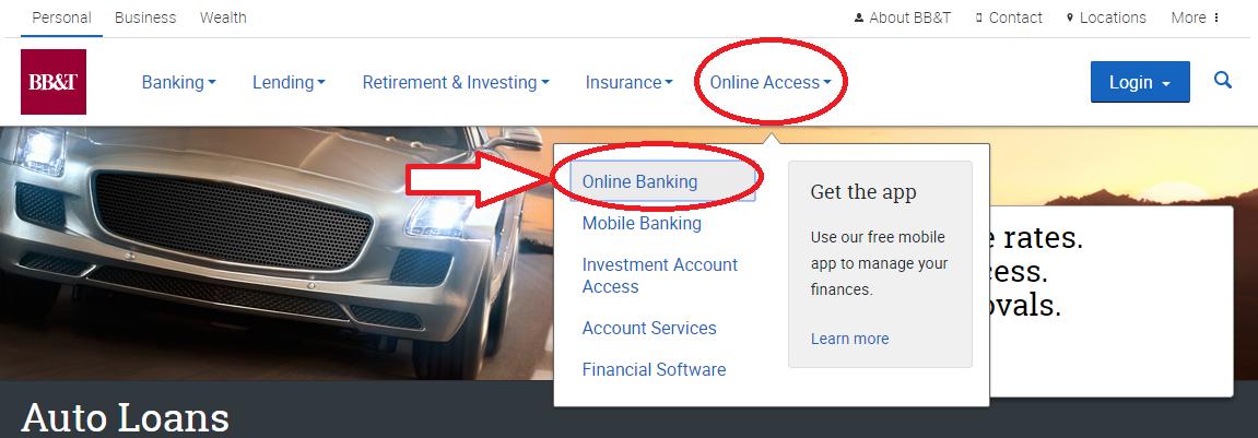 Pay Bb T Car Loan Online