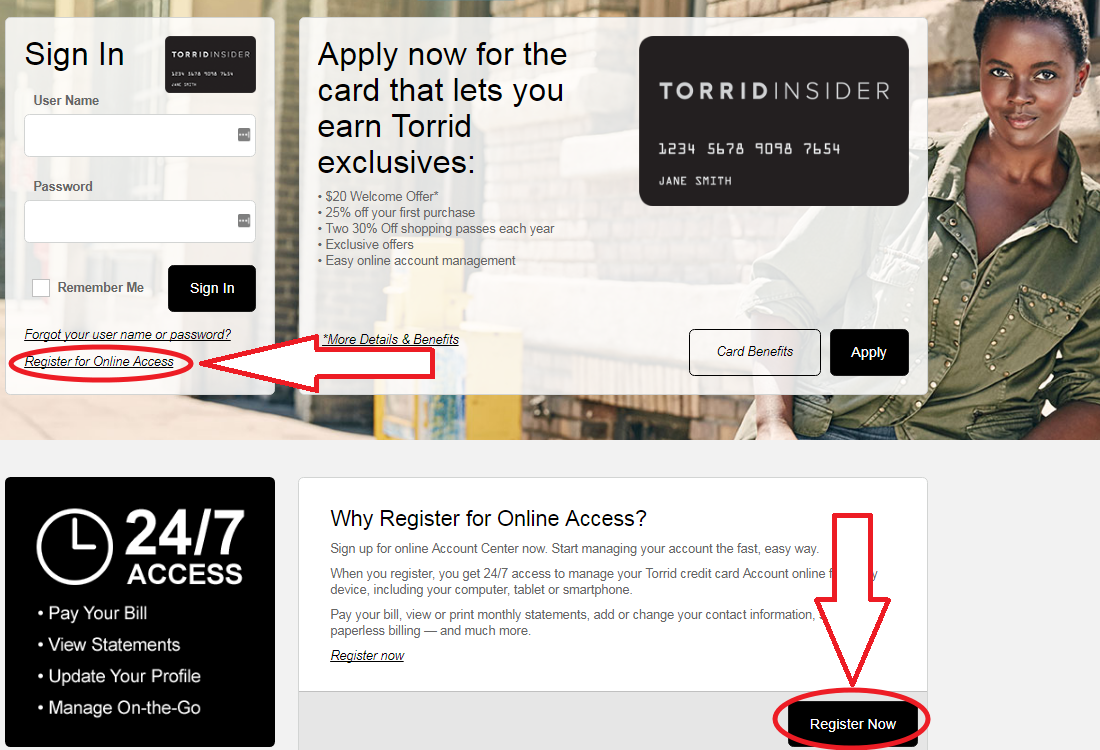 Www Comenity Net Torrid Credit Card Register Pay My Bill Guru