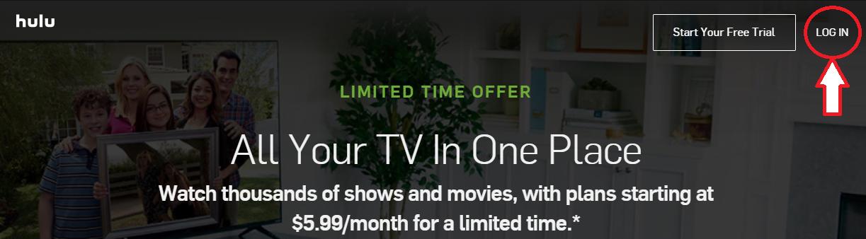 www.Hulu.com Login