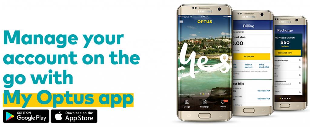 www.Optus.com My Optus App