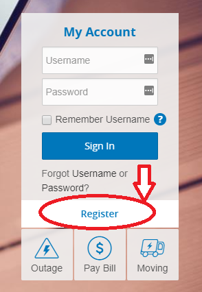 www.PECO.com Account Registration