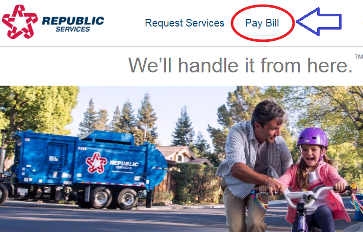www.RepublicServices.com Pay My Bill