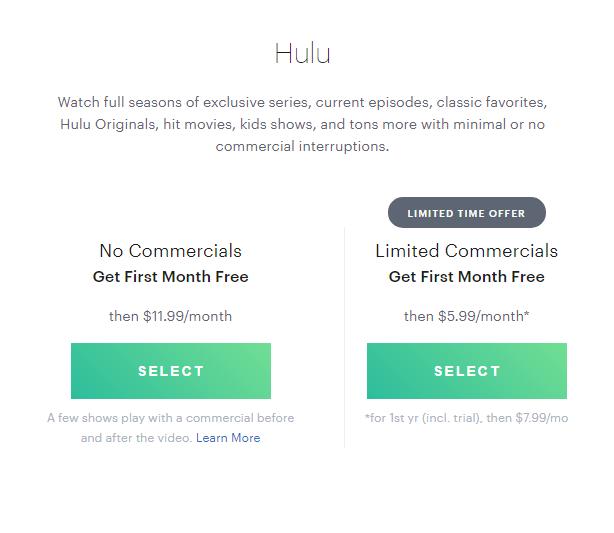 www.SignUp.Hulu.com Hulu Registration
