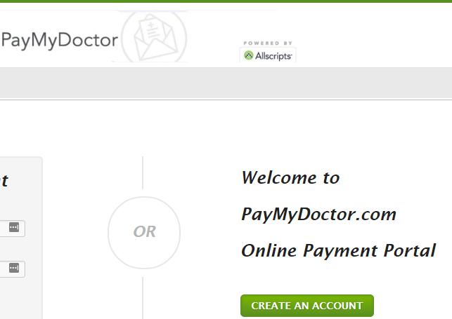 www.PayMyDoctor.com
