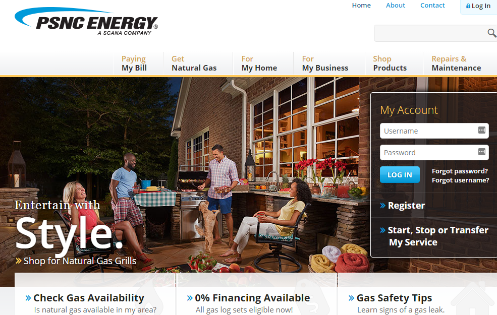 Piedmont Natural Gas Pay By Credit Card
