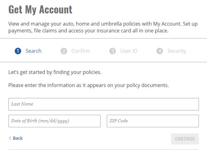 MyAccount.AmFam.com Enrollment