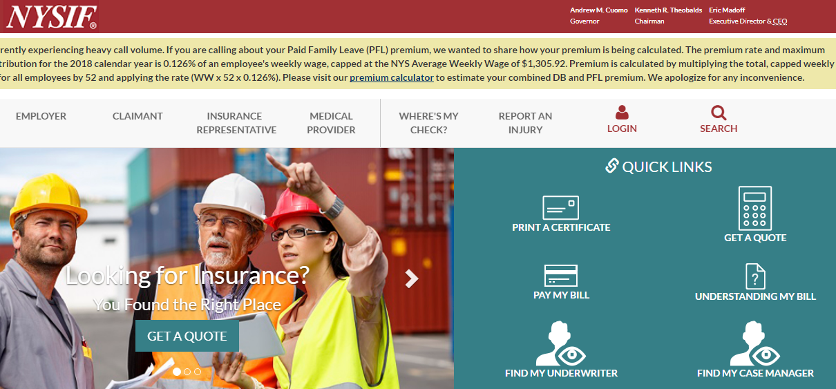 NYSIF.Com Pay Your Bill | NYSIF Pay My Bill - Your Best Payment Solutions