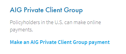 www.AIG.com Private Payment