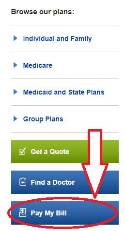 www.BCBSM.com Pay My Bill