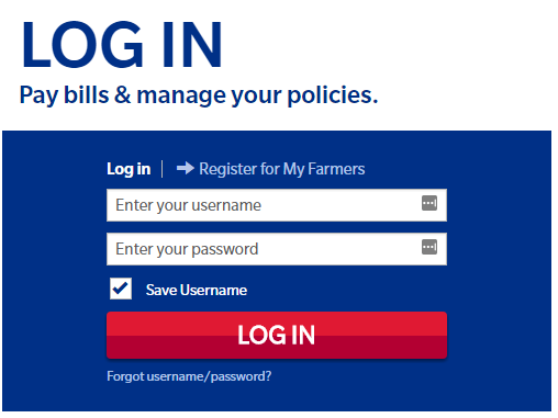 farmers com login