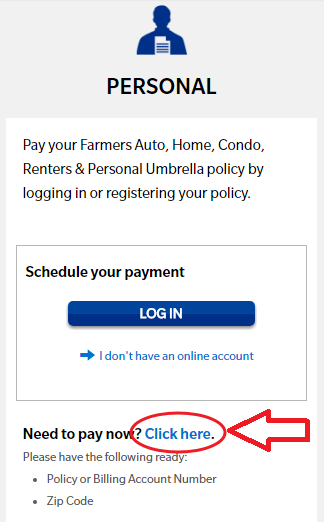 www.Farmers.com Payment