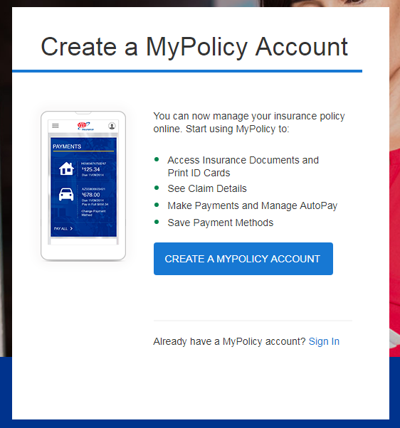 CSAA-Insurance.AAA.com MyPolicy Account