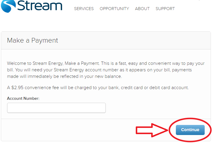 www.MyStream.com One-Time Payment