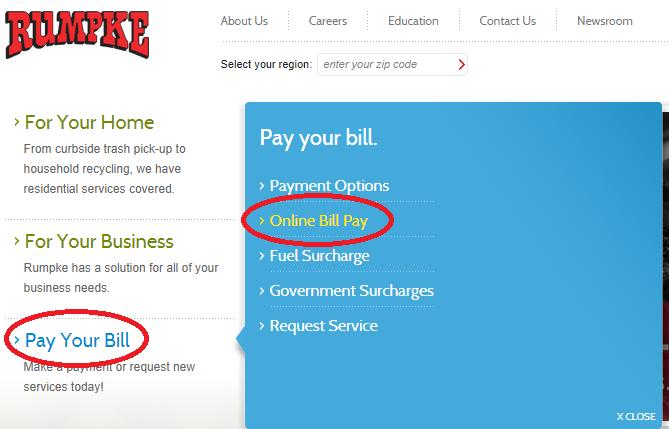 www.Rumpke.com Pay My Bill