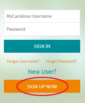 My.CarolinasHealthCare.org Sign Up