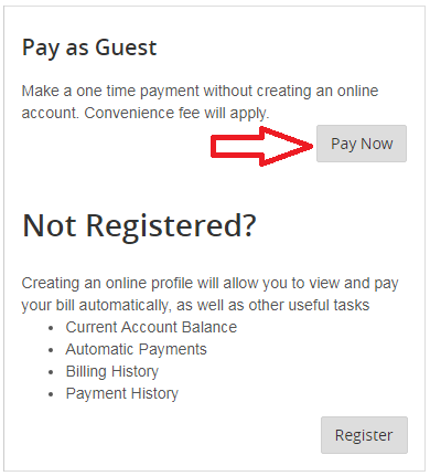 Secure.BGE.com Pay as Guest