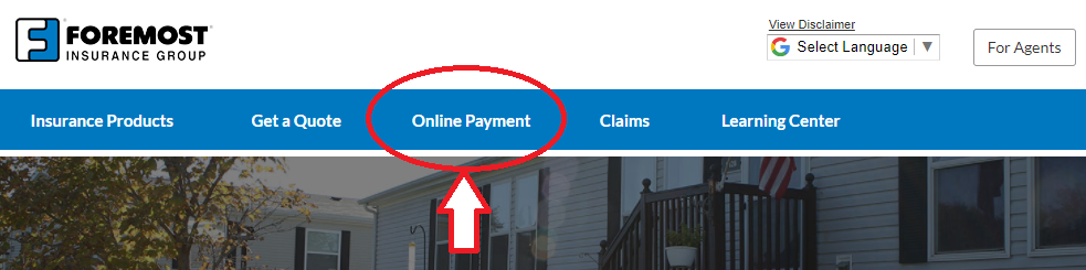 www.Foremost.com Online Payment