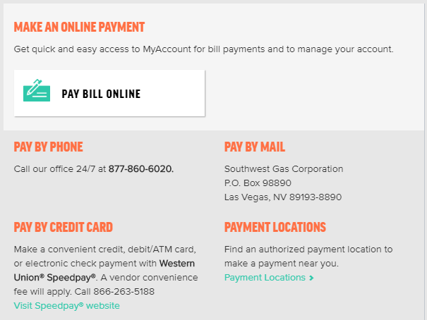 Southwest Gas Pay My Bill All Payment Options Pay My Bill Guru