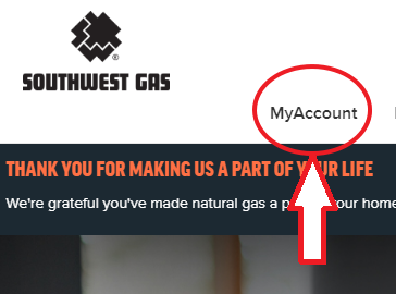 www.SWGAS.com My Account