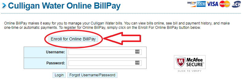 Culligan Water Bill Pay - Best Payment Solutions - Pay My Bill Guru