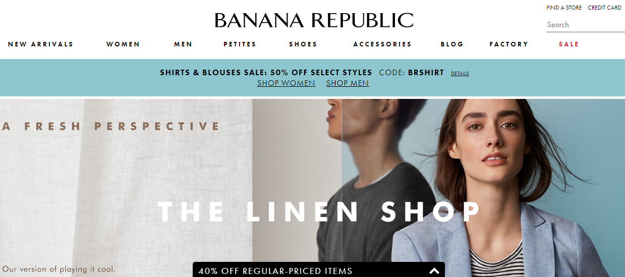 BananaRepublic.Gap.com