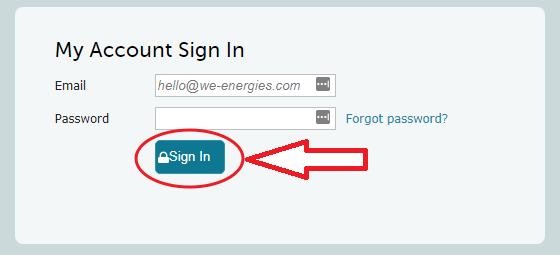 Login.We-Energies.com Sign In
