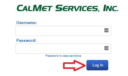 Portal.CalmetServices.com Login