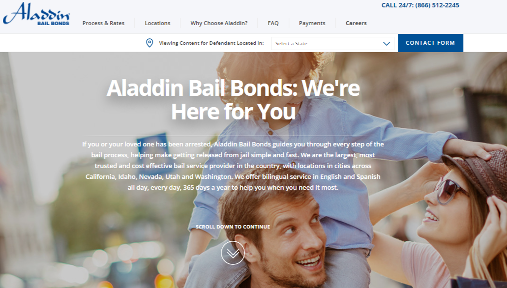 www.AladdinBailBonds.com