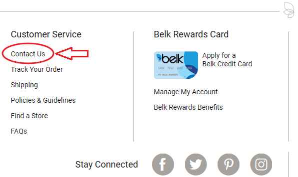 Belk 1800 Number >> Belk Credit Card Bill Pay In Different Ways Pay My Bill Guru