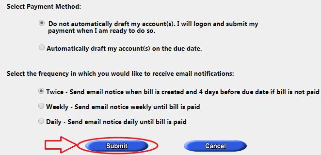 www..JeffParish.net Water Bill Register
