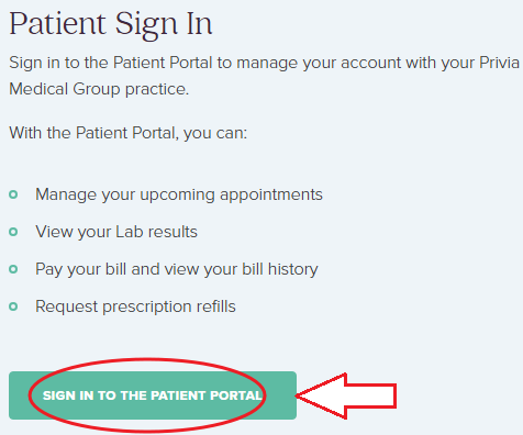 www.PriviaHealth.com Sign In