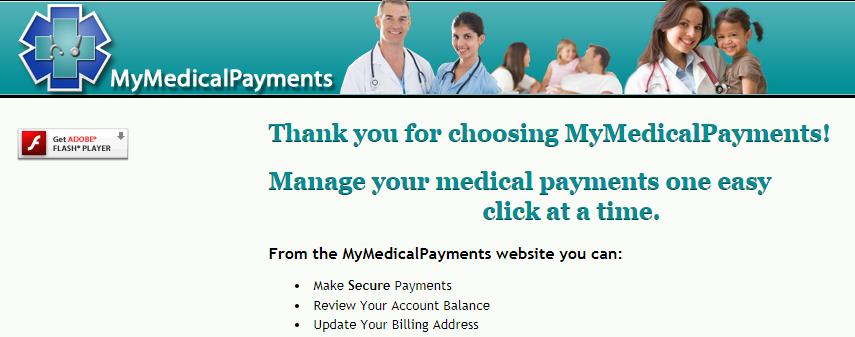 www.MyMedicalPayments.com