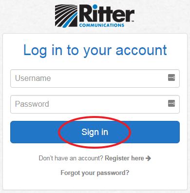 Billing.Ritternet.com Login
