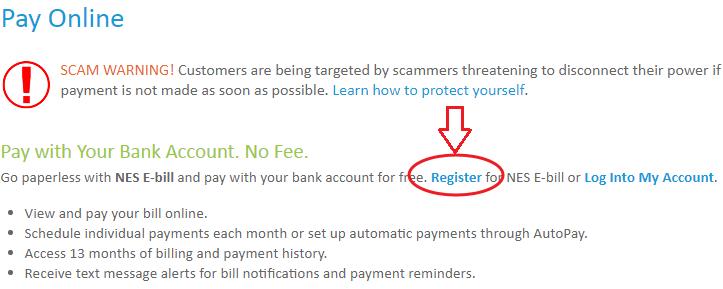 www.NesPower.com Online Pay