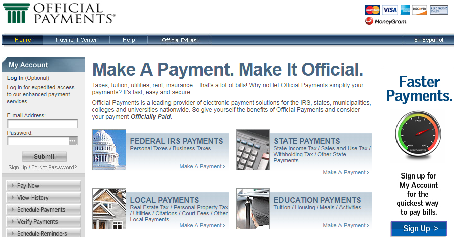 www.OfficialPayments.com