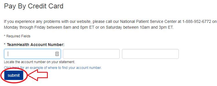 www.THBillPay.com Account Verification